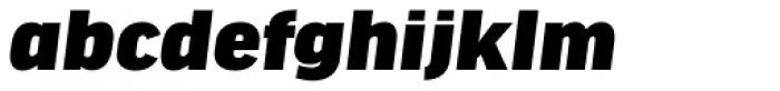 FF Good Headline OT Wide Ultra Italic Font LOWERCASE
