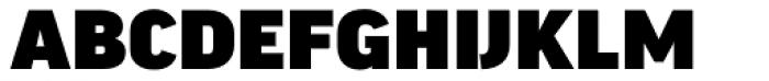 FF Good Headline OT Wide Ultra Font UPPERCASE