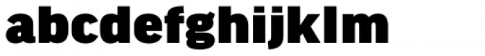 FF Good Headline OT Wide Ultra Font LOWERCASE