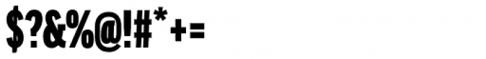FF Good Headline OT XCond Ultra Font OTHER CHARS