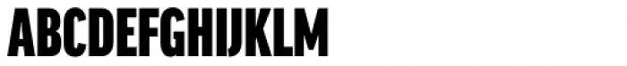 FF Good Headline OT XCond Ultra Font UPPERCASE