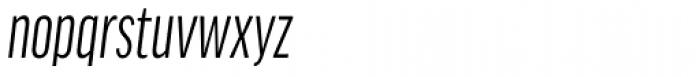 FF Good Headline Pro Comp Italic Font LOWERCASE
