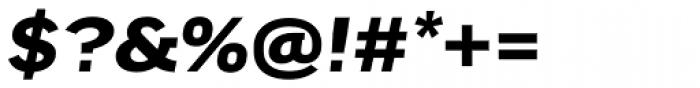 FF Good Headline Pro Extd Bold Italic Font OTHER CHARS