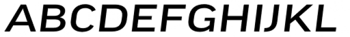 FF Good Headline Pro Extd News Italic Font UPPERCASE