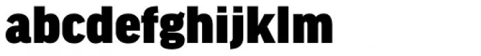 FF Good Headline Pro Ultra Font LOWERCASE