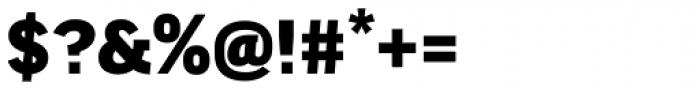 FF Good Headline Pro Wide Black Font OTHER CHARS