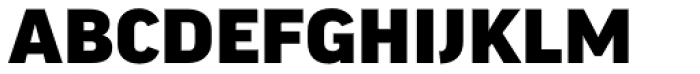 FF Good Headline Pro Wide Black Font UPPERCASE