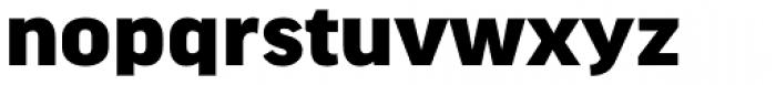 FF Good Headline Pro Wide Black Font LOWERCASE