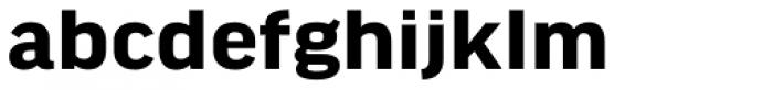 FF Good Headline Pro Wide Bold Font LOWERCASE