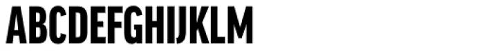 FF Good Headline Pro XCond Black Font UPPERCASE