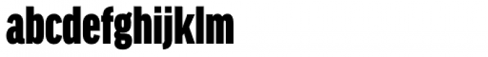 FF Good Headline Pro XCond Ultra Font LOWERCASE