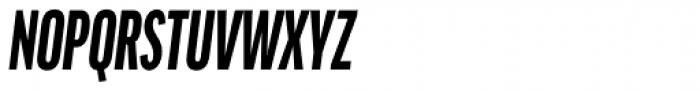 FF Good OT Comp Black Italic Font UPPERCASE