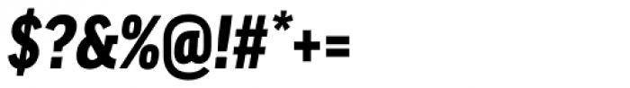 FF Good OT Narr Black Italic Font OTHER CHARS