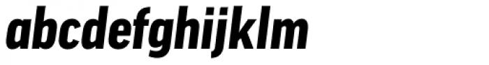 FF Good OT Narr Black Italic Font LOWERCASE