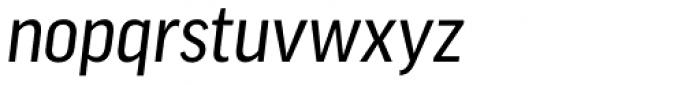 FF Good OT Narr News Italic Font LOWERCASE