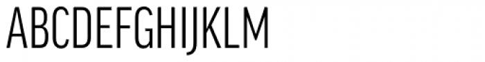 FF Good OT XCond Font UPPERCASE