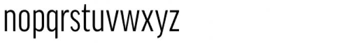 FF Good OT XCond Font LOWERCASE