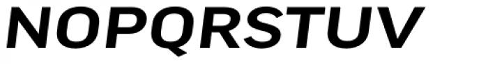 FF Good Pro Extd Medium Italic Font UPPERCASE