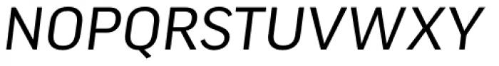 FF Good Pro Wide Italic Font UPPERCASE