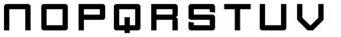 FF Gothic OT Font UPPERCASE