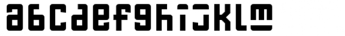 FF Gothic One One Condensed Font LOWERCASE