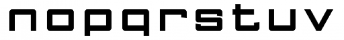 FF Gothic Two Two Font LOWERCASE