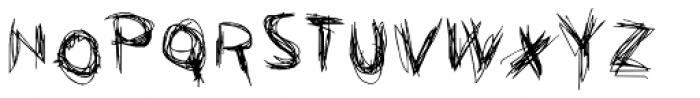 FF Graffio Difensivo OT Font UPPERCASE