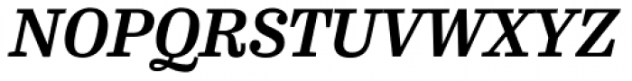 FF Hertz OT Bold Italic Font UPPERCASE