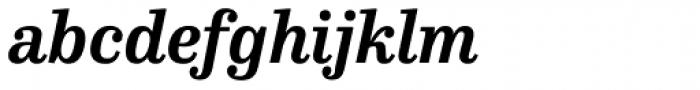FF Hertz OT Bold Italic Font LOWERCASE
