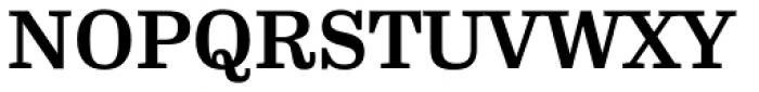 FF Hertz OT Bold Font UPPERCASE