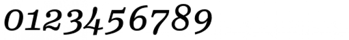 FF Hertz OT Book Italic Font OTHER CHARS