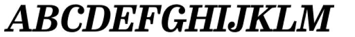 FF Hertz OT ExtraBold Italic Font UPPERCASE