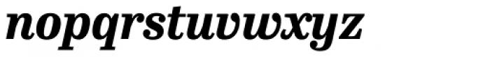 FF Hertz OT ExtraBold Italic Font LOWERCASE