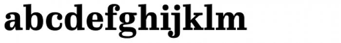 FF Hertz OT ExtraBold Font LOWERCASE
