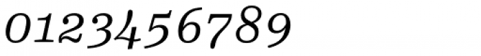 FF Hertz OT Light Italic Font OTHER CHARS