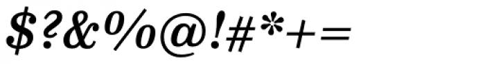 FF Hertz OT Medium Italic Font OTHER CHARS
