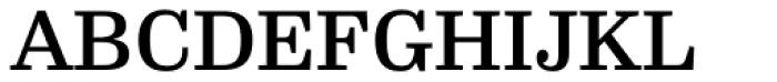 FF Hertz OT Medium Font UPPERCASE