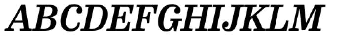 FF Hertz Pro Bold Italic Font UPPERCASE