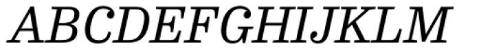 FF Hertz Pro Italic Font UPPERCASE