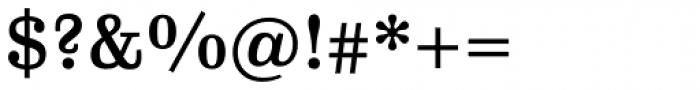 FF Hertz Pro Medium Font OTHER CHARS