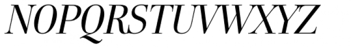 FF Holmen OT Italic Font UPPERCASE