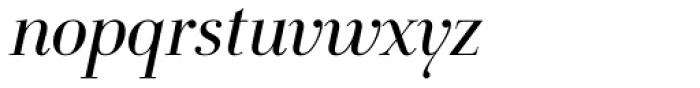 FF Holmen OT Italic Font LOWERCASE