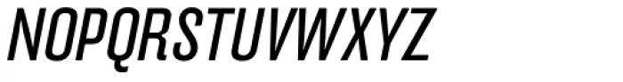 FF Hydra OT Book Italic Font UPPERCASE