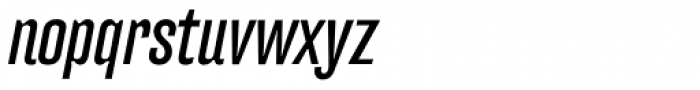 FF Hydra OT Book Italic Font LOWERCASE