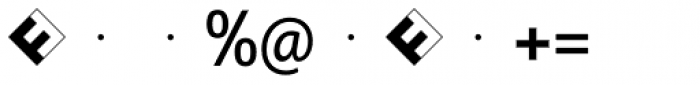 FF Identification Two M Font OTHER CHARS