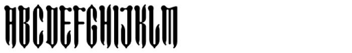 FF Imperial Long Bone Font LOWERCASE