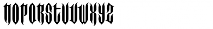 FF Imperial Spike Font LOWERCASE