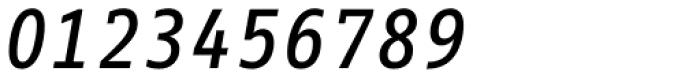 FF Info Correspondence Pro Medium Italic Font OTHER CHARS