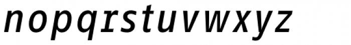 FF Info Correspondence Pro Medium Italic Font LOWERCASE