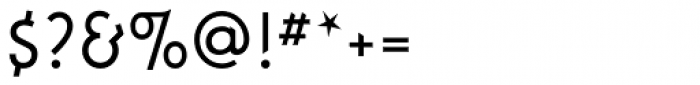 FF Instanter Light Font OTHER CHARS